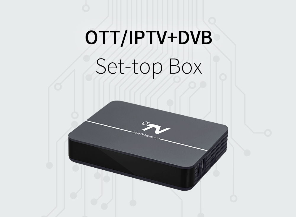 DV3204-C HD OTT DVB-C Hybrid Set-Top Box