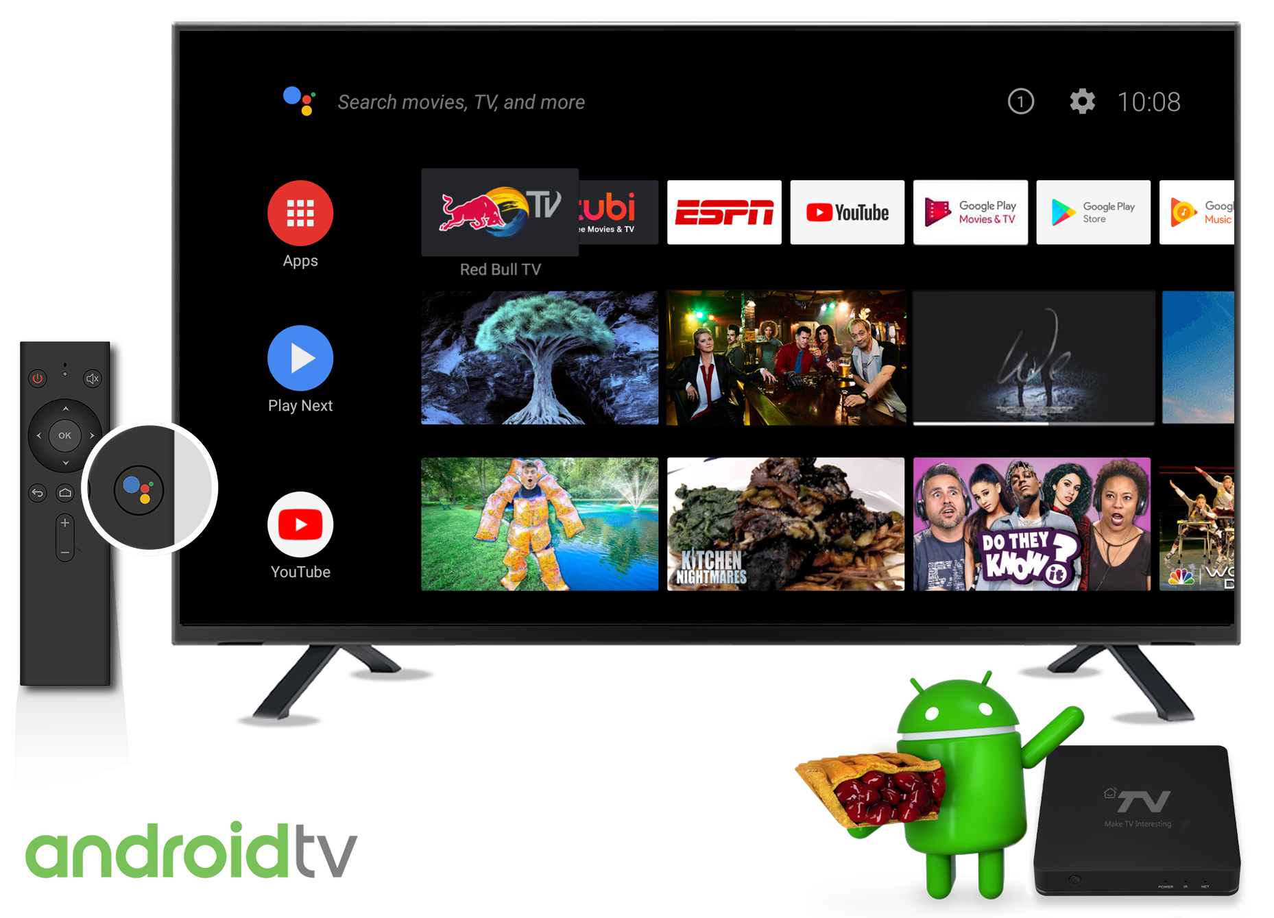 SDMC Demonstrated Android TV Pie Box