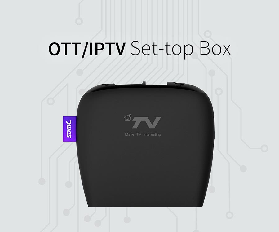 DV8220 Amlogic S905X OTT Android TV Box 4K Ultra HD 2gb ram 8gb rom