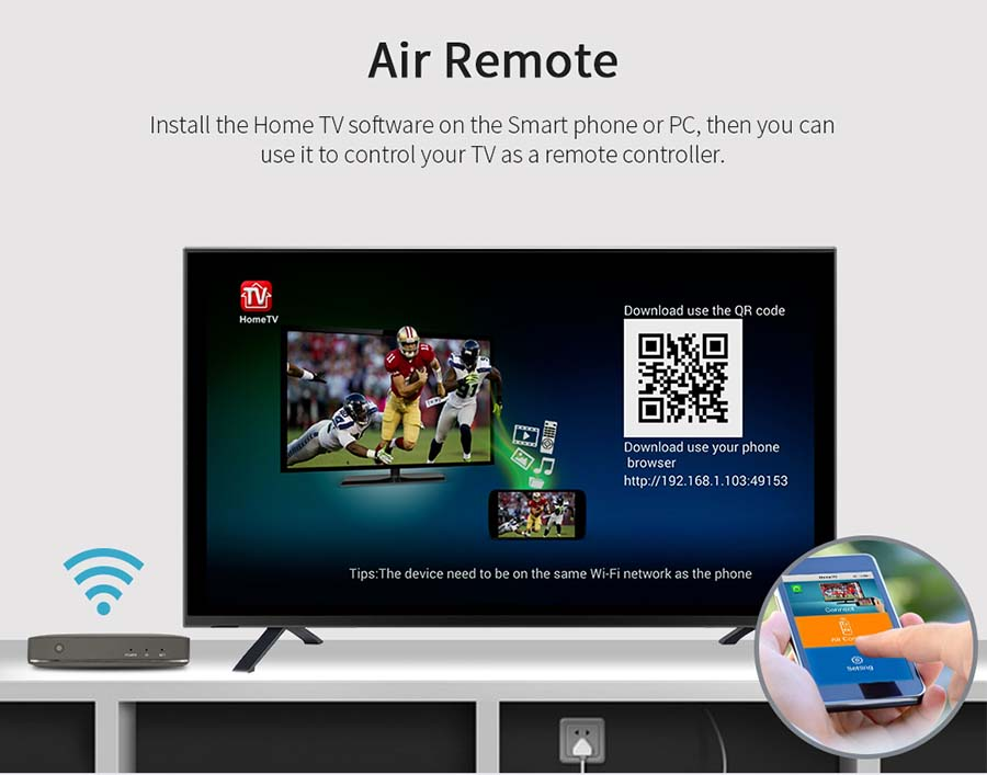 Android OTT TV Box with 4G-LTE Wifi Router
