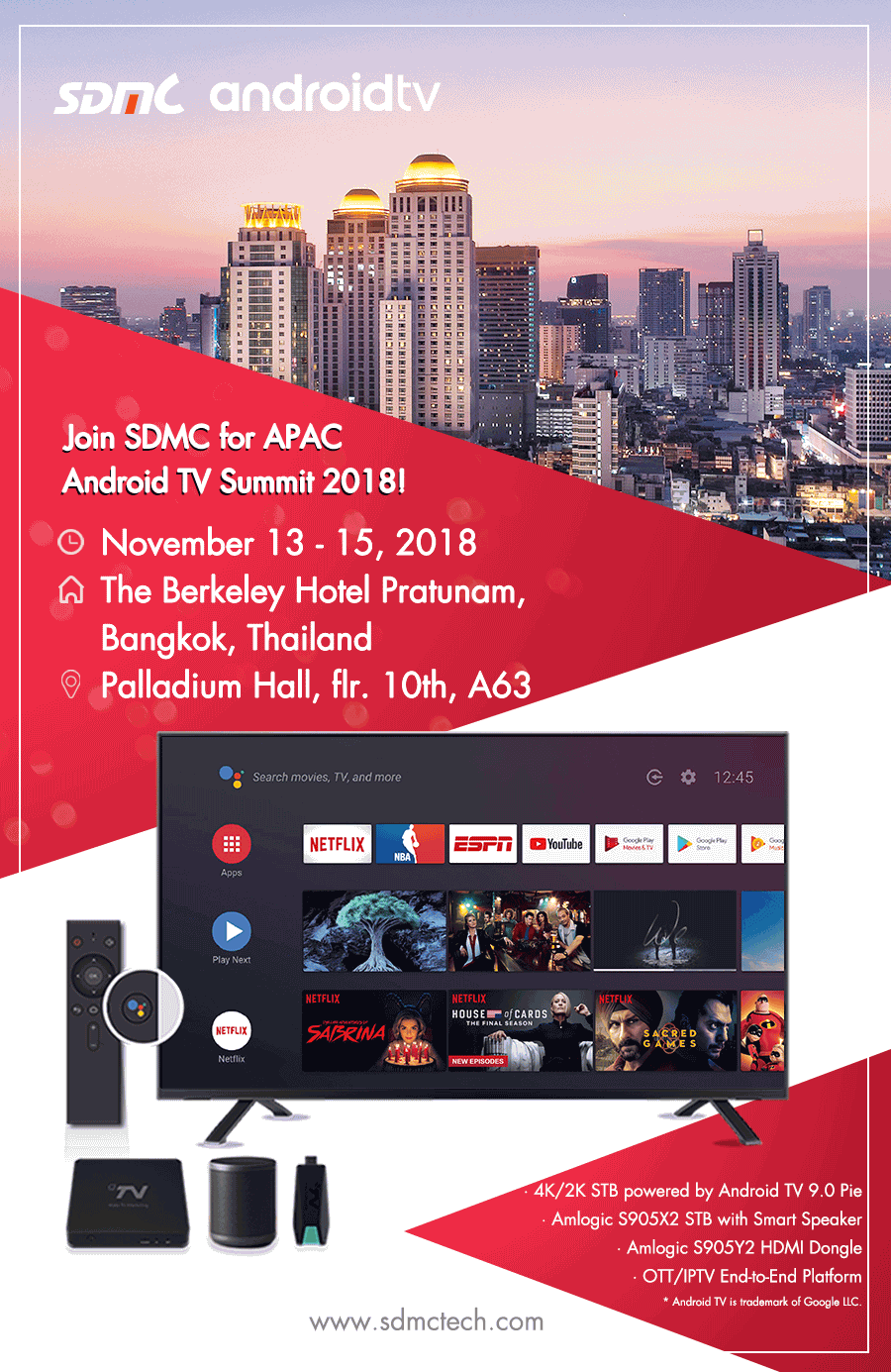 APAC Android TV Summit 2018