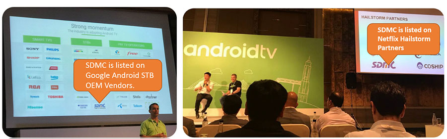 Android TV and Netflix partner