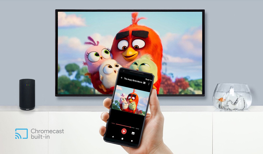 Android TV Smart speaker with chromecast built-in
