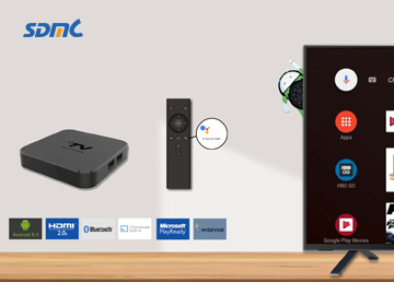 SDMC 4K HDR OTT Android TV Box Oreo 8.0 Version Review