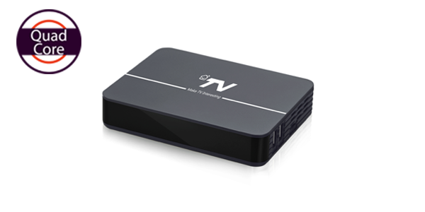 DV8304-T2 Quad-core 4K HD OTT DVB-T2 Hybrid Android TV Box