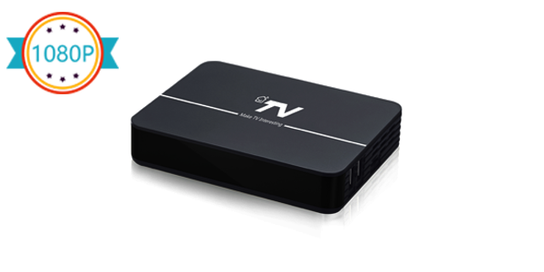 DV8004-T2 1080P HD Hybrid Android TV Box OTT/IPTV+DVB-T2