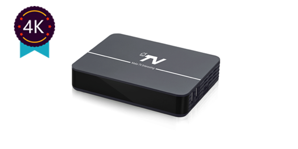 DV8804-T2 4K HD OTT/IPTV DVB-T2 Hybrid Android TV Set-top Box