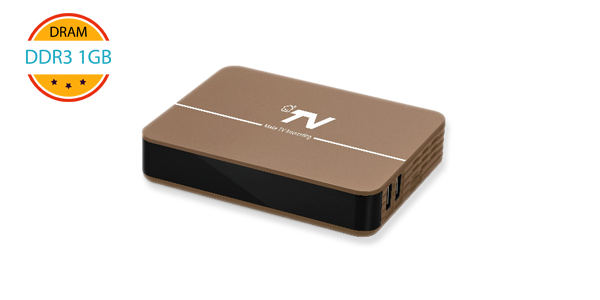 DV8604-T2 Android TV DVB-T2 Set Top Box for OTT / IPTV Project