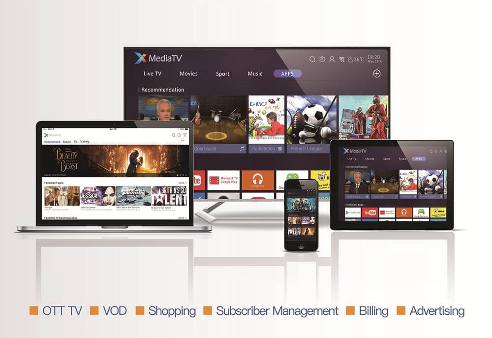 SDMC launched a next generation of XMediaTV OTT TV integrated ecosystem solutions