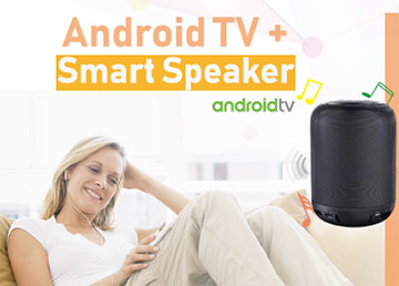 SDMC New AI assistant - Android TV Smart Speaker