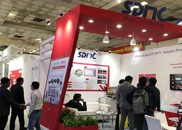 SDMC Exhibited Android TV Devices at Convergence India
