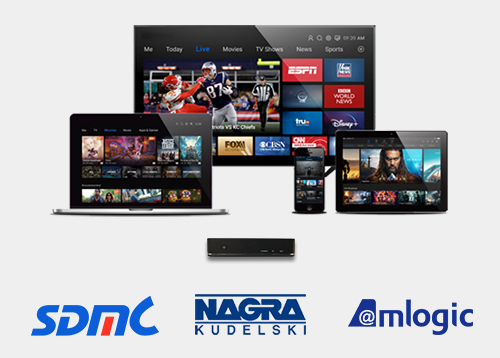 SDMC, NAGRA and Amlogic collaborate on Android TV solutions for pay-TV operators