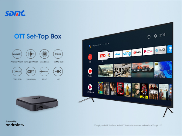 SDMC Launches New OTT Box Powered by Android TV
