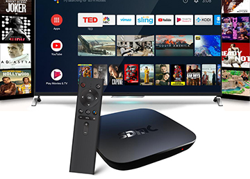 Amlogic S905X4 4K Android™ TV Box: AV1 Codec Support