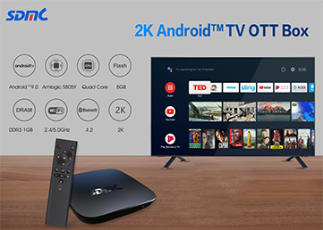 SDMC Introduces Cost-effective Android TV Solution with Amlogic S805Y Processor
