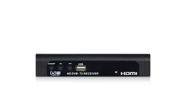 DV2108-T2 1080P High Definition DVB-T2 Set-Top Box with HDMI Output