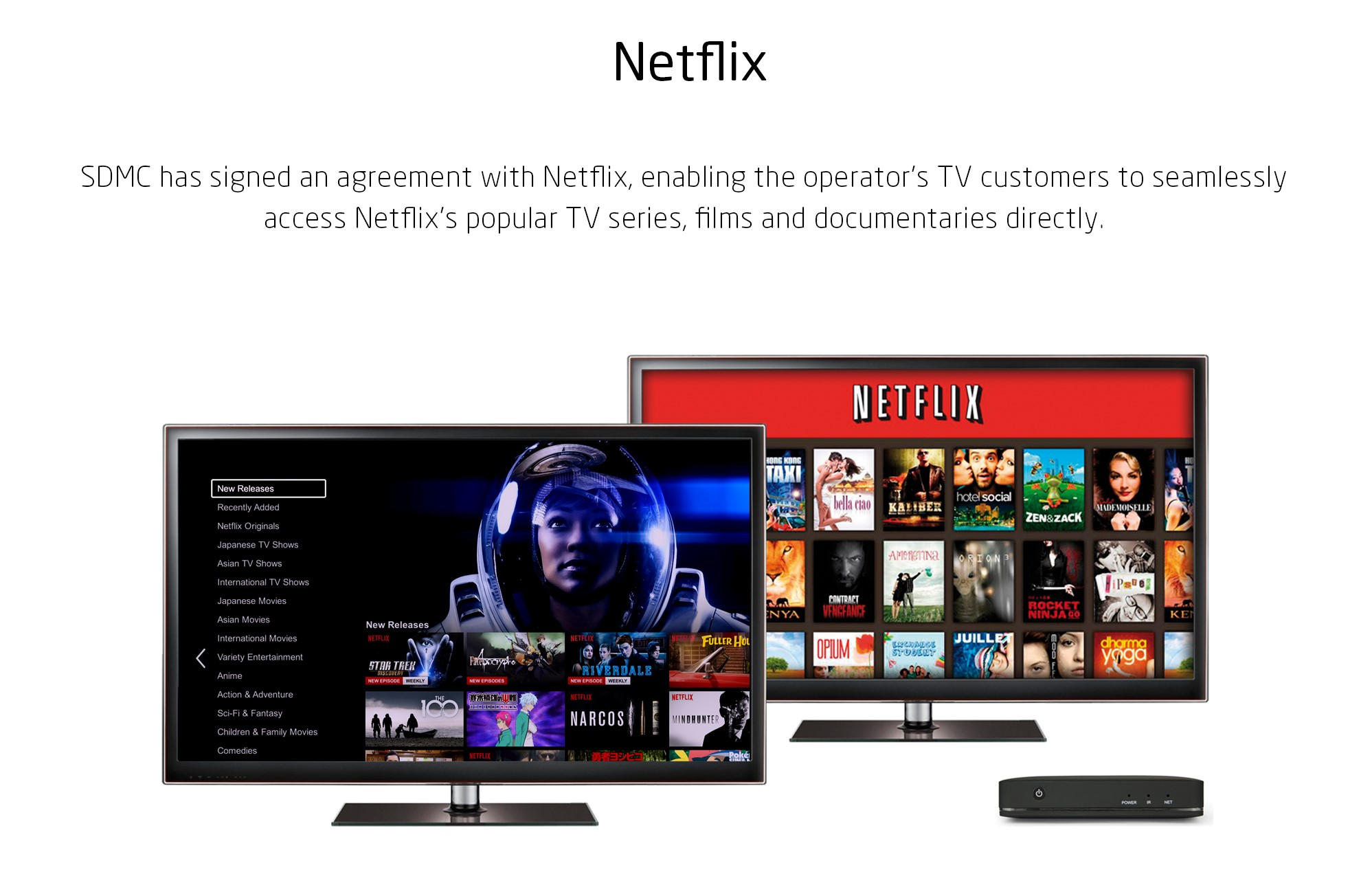 Netflix brings endless videos to operators