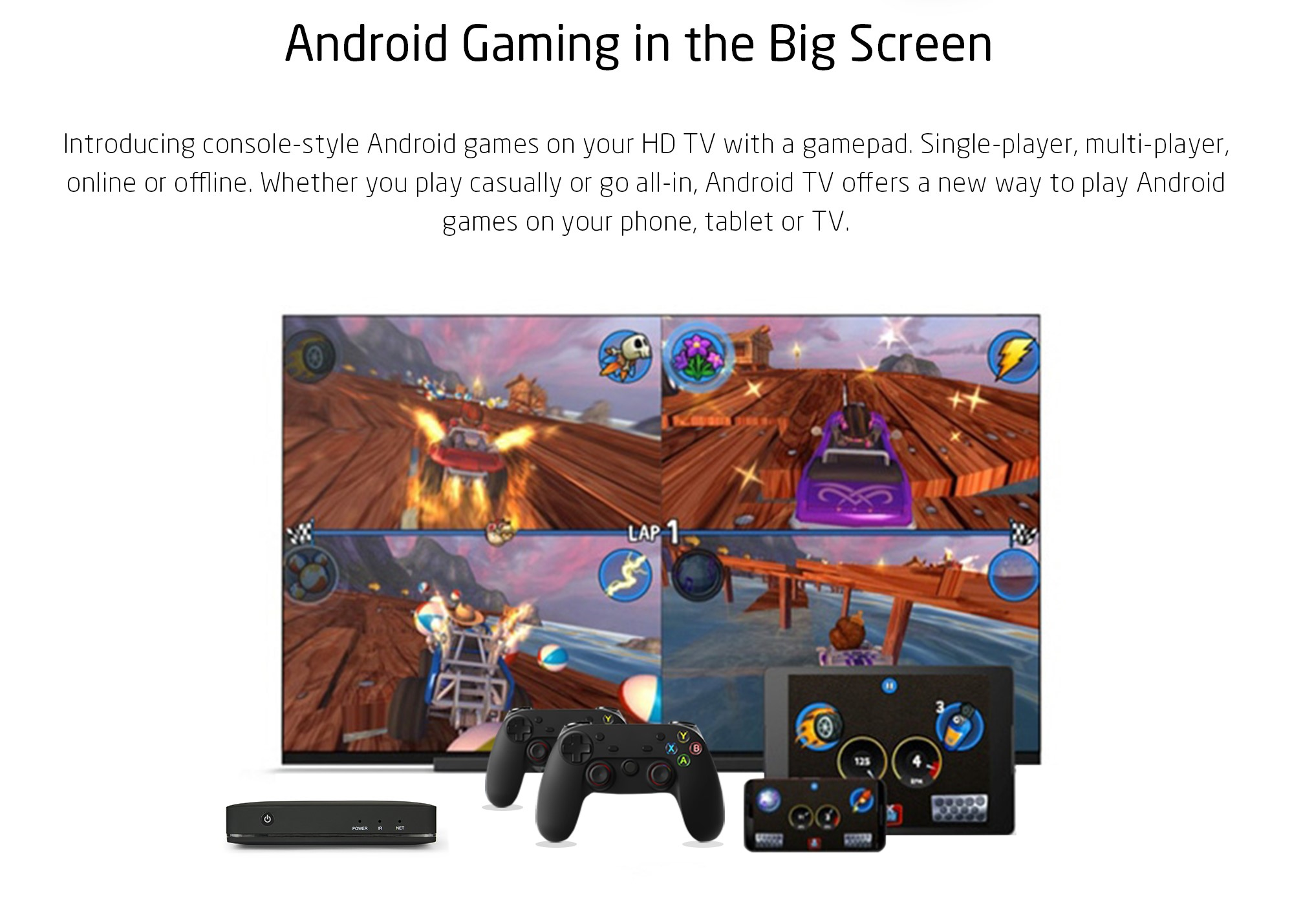 Play Android Games with Bluetooth Gamepad