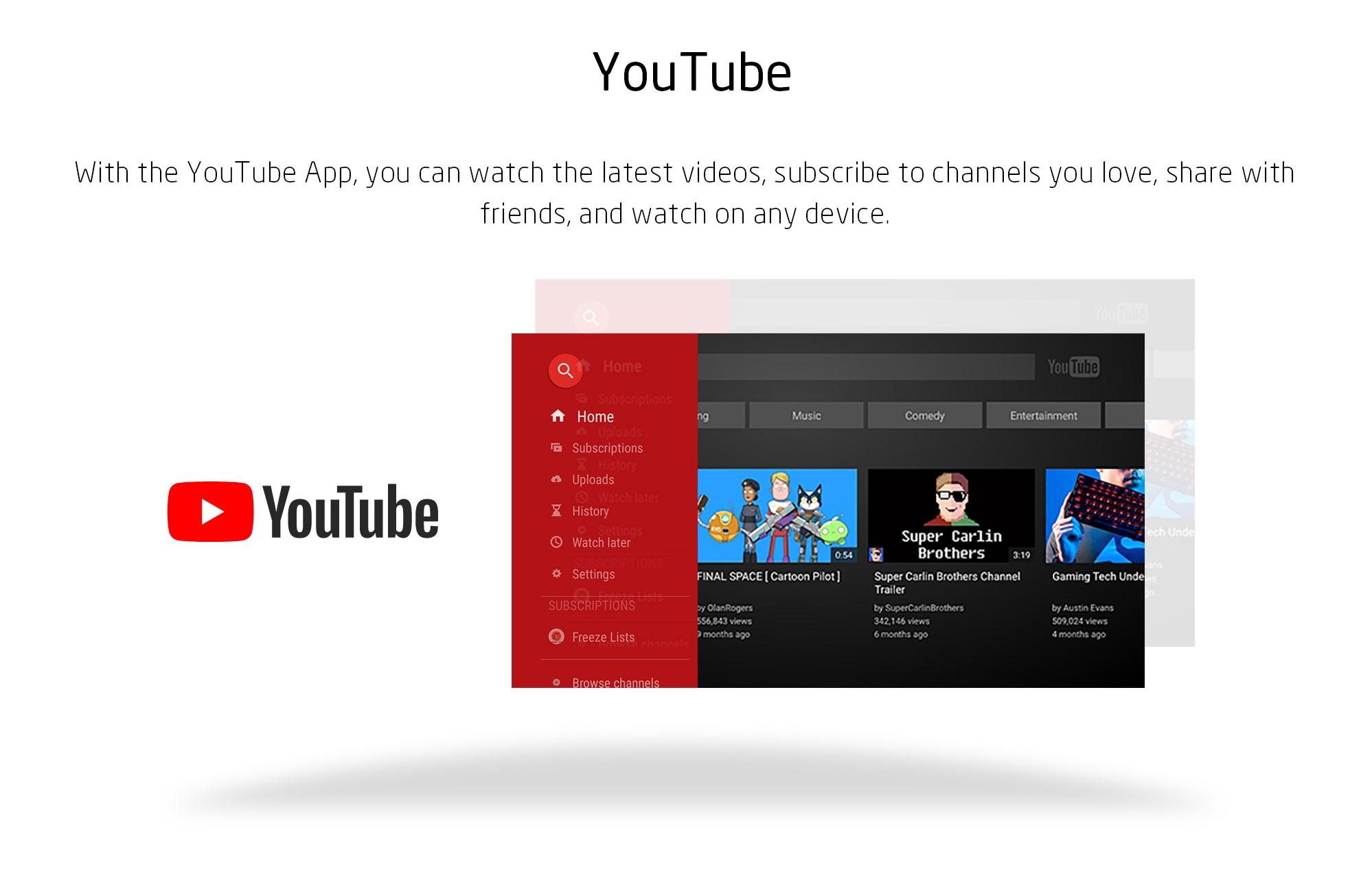 YouTube Applications