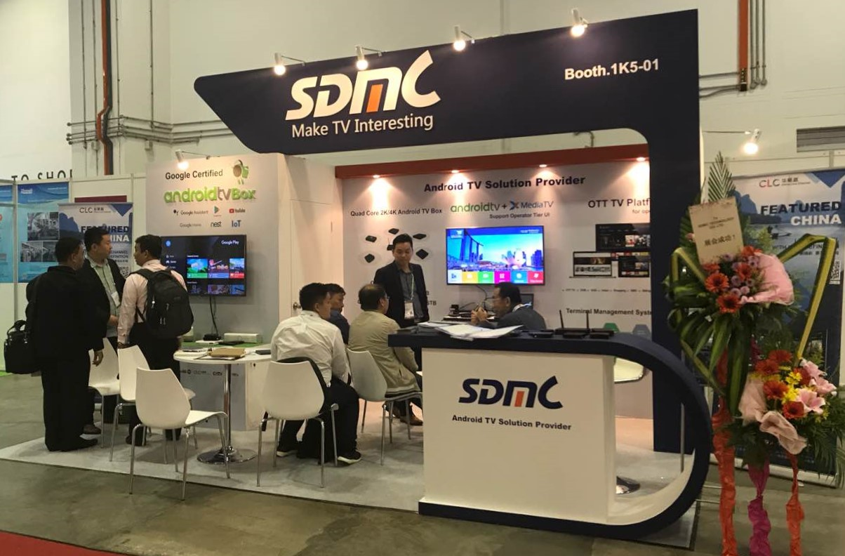 SDMC showcased Android TV Solutions at CMMA 2018